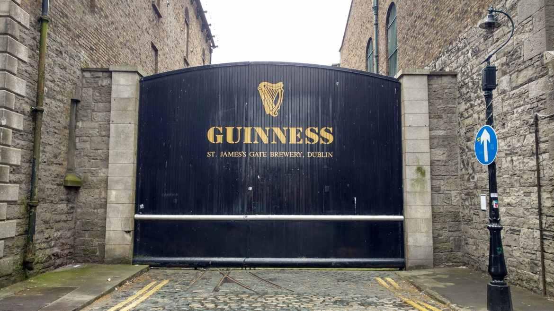 Best neighbourhoods for tourists in Dublin - Around Guinness Storehouse