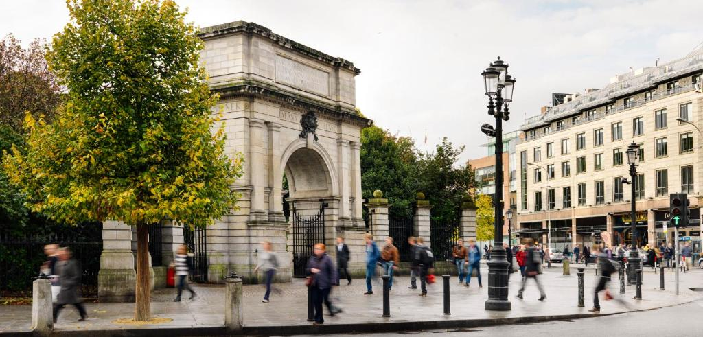 Upscale area to stay in Dublin - Around St Stephen's Green