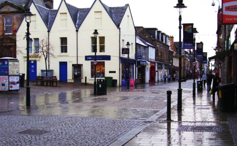 The Town Centre is the best area to stay in Fort William, Scotland