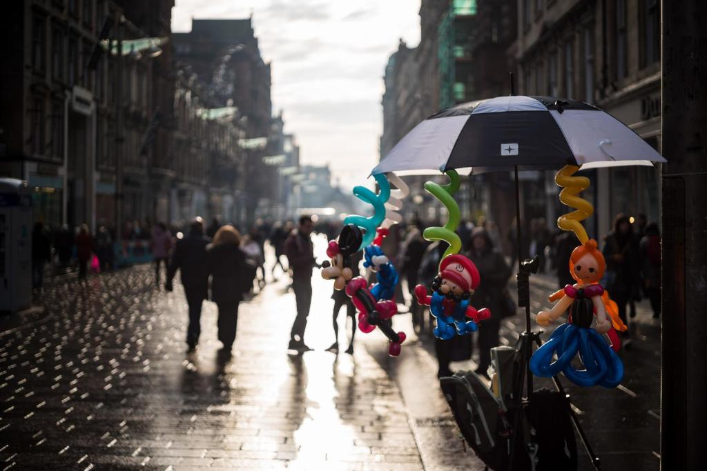 Sauchiehall Street is one of the best areas to stay in Glasgow for tourists