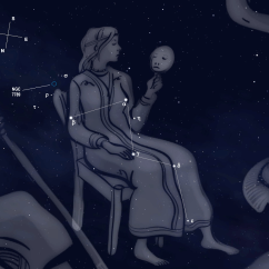 Geologic Fishing Chair Flip Out Sleeper Montessori Astronomy The Constellations Cassiopeia