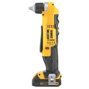 DEWALT DCD740C1 right angle drill
