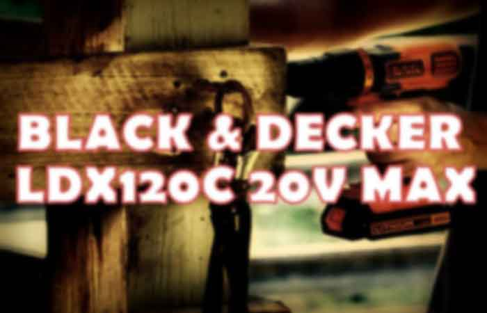 Black and Decker LDX120C FI