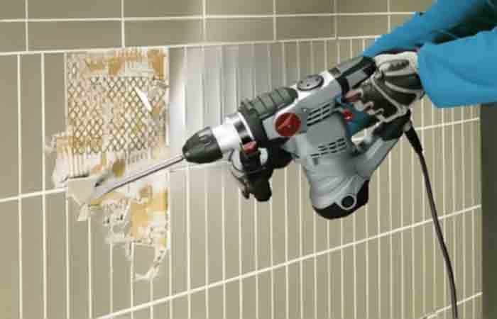 how to use rotary hammer drill Fi