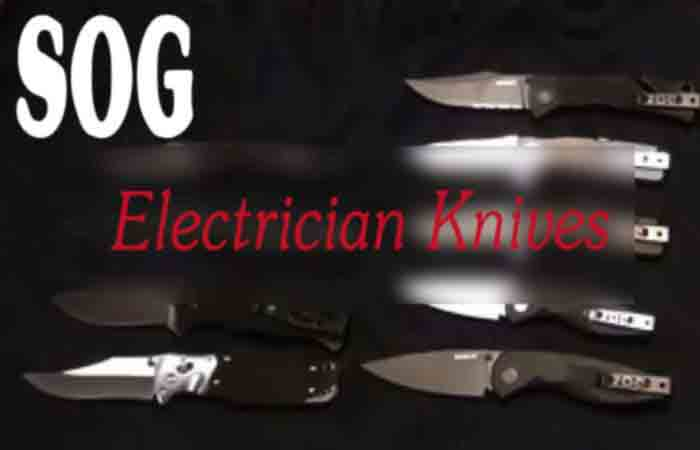 SOG Electrician Knife fo