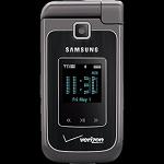 Samsung Alias 2 QWERTY two-way flip phone