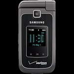 Samsung Alias 2 QWERTY two-way flip phone
