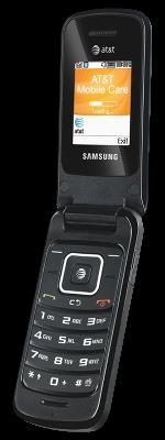 Samsung a157 flip phone, open
