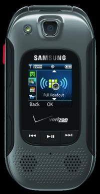 Samsung Convoy 3 rugged flip phone, with camera