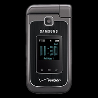 Samsung Alias 2 two-way flip phone