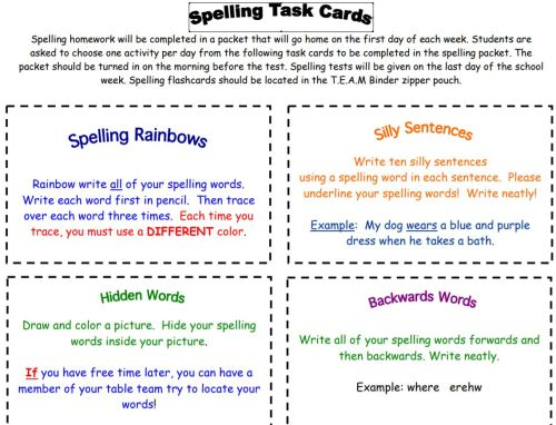 small resolution of 32 Spelling Lists and Worksheets – Best Ed Lessons