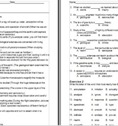 150 Vocabulary Word-Definition Lists and Worksheets for Middle – High  School – Best Ed Lessons [ 751 x 1392 Pixel ]