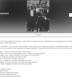 Slavery \u0026 Freedom and Civil Rights Movement Online Lesson Units – Best Ed  Lessons [ 885 x 1277 Pixel ]