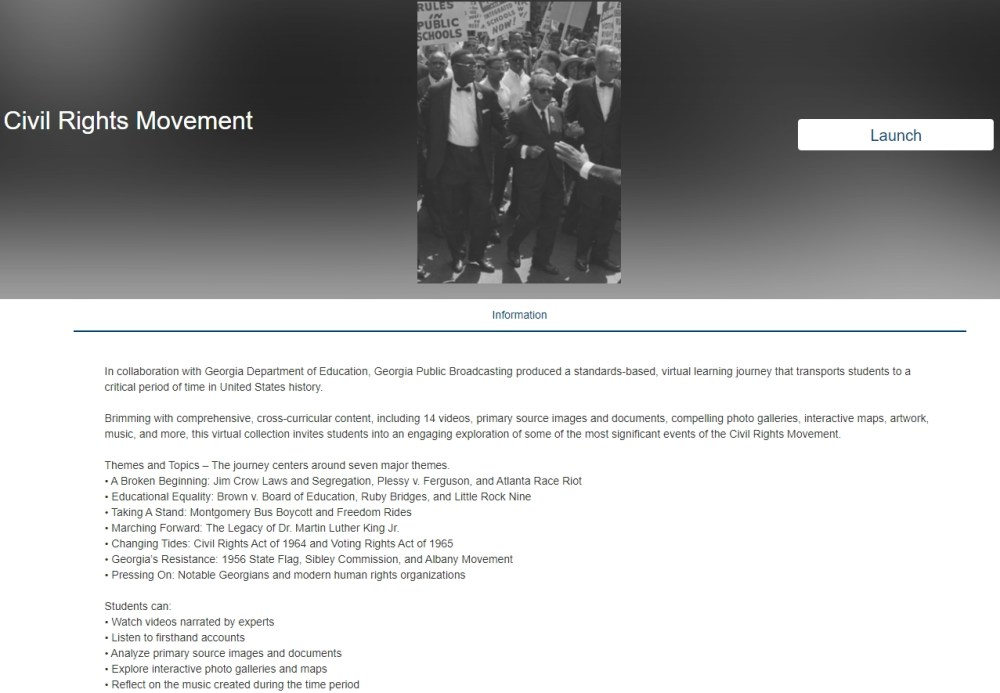 medium resolution of Slavery \u0026 Freedom and Civil Rights Movement Online Lesson Units – Best Ed  Lessons