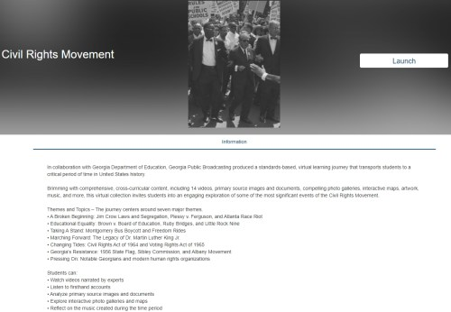 small resolution of Slavery \u0026 Freedom and Civil Rights Movement Online Lesson Units – Best Ed  Lessons