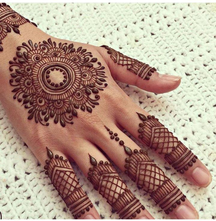 Pakistani Eid Mehndi Designs