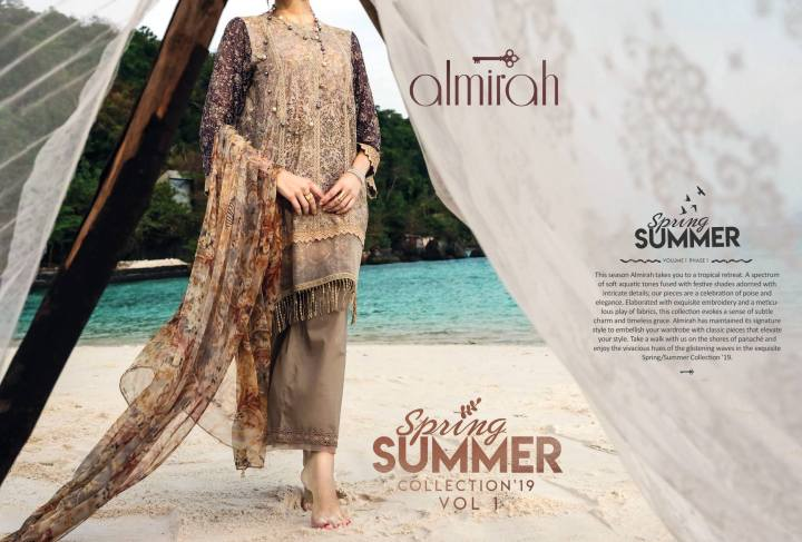 Latest Almirah Lawn Eid Collection 2019