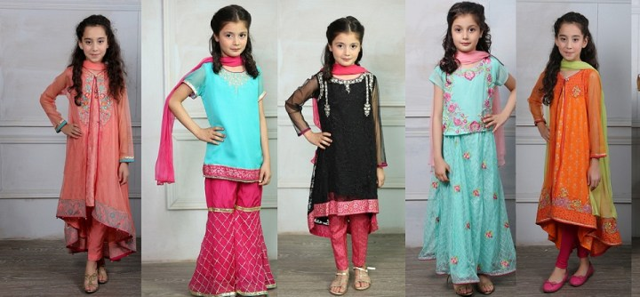 Baby Girl Eid Dresses 2020