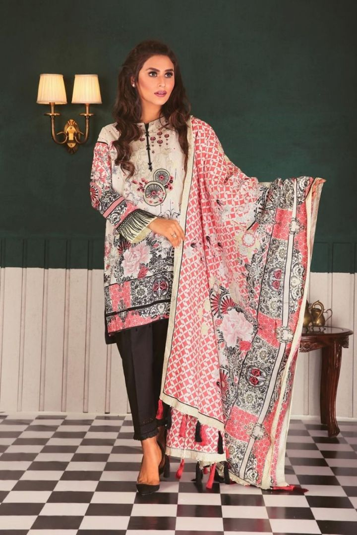 Bonanza Satrangi Lawn Collection 2019