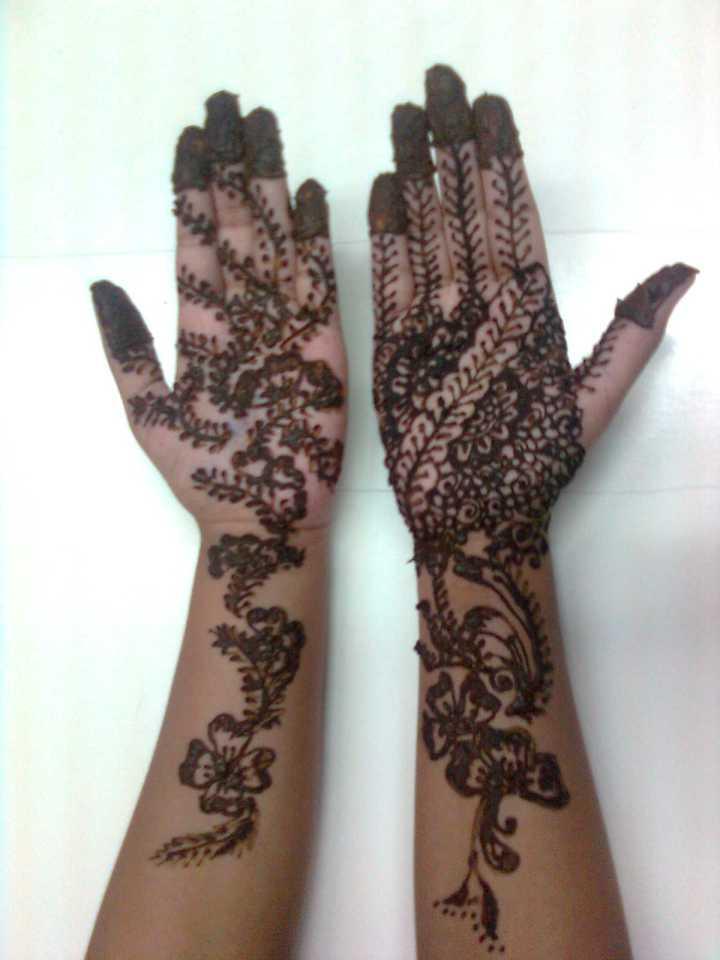 Eid Mehndi Design Full Hand Image