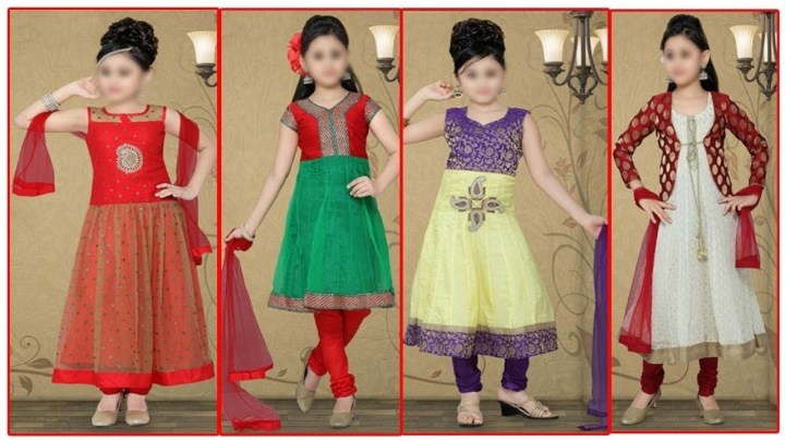 Eid Dresses For Baby Girl