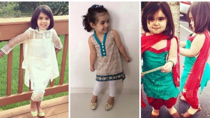 New Eid Dresses For Baby Girls 2019