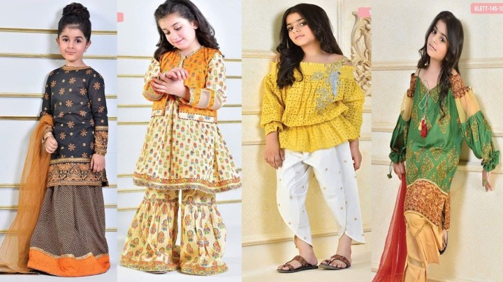 New Eid Dresses For Baby Girls 2019