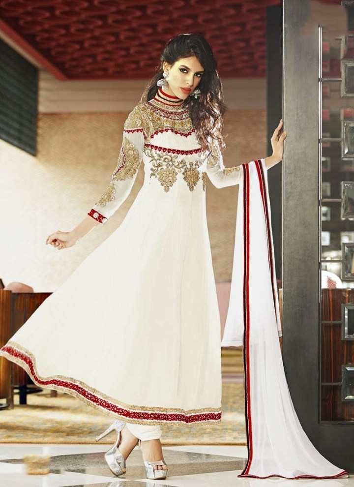 Beautiful Eid Dresses Style For Teenage Girls