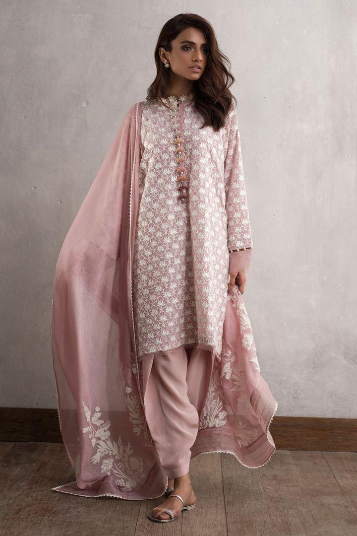 Latest Nida Azwer Eid Lawn Collection 2019