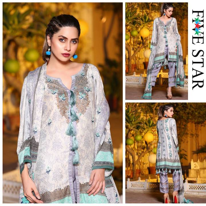 Latest Five Star Lawn Eid Collection 2019