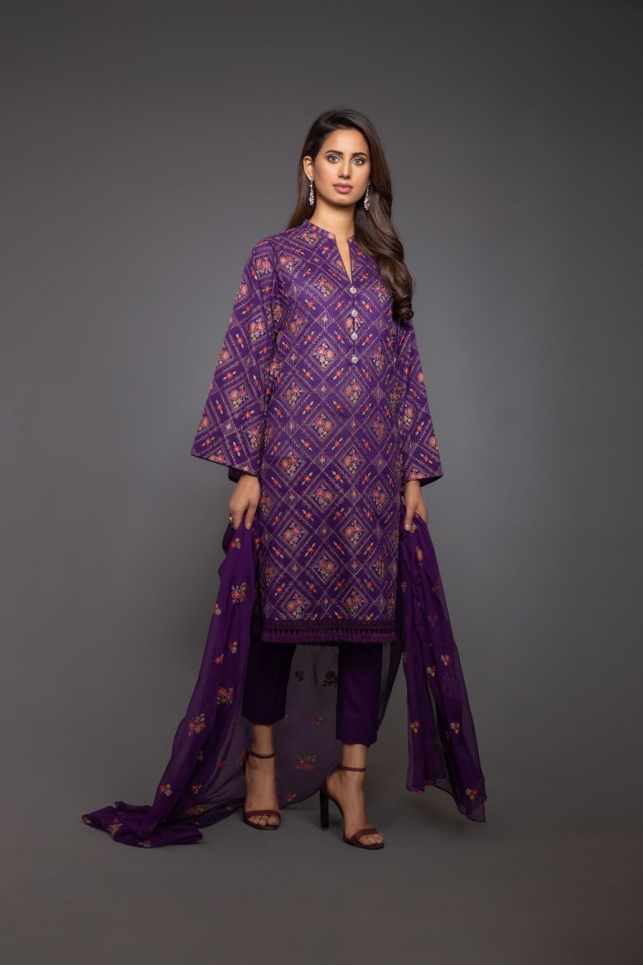 Latest Bareeze Eid Lawn Collection 2019