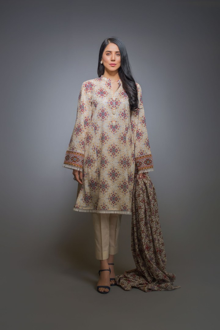 Bareeze Embroidered Eid Collection 2019