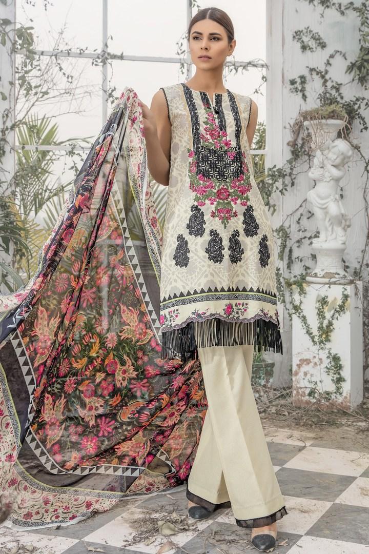 Latest Firdous Unstitch Lawn Eid Collection 2019