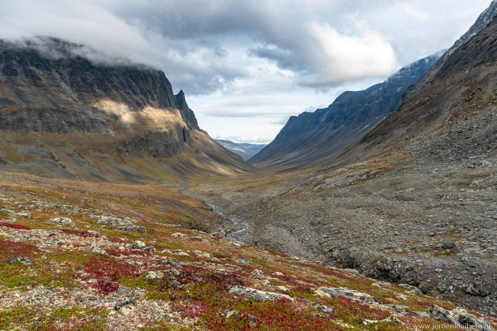Ruige bergen noord zweden