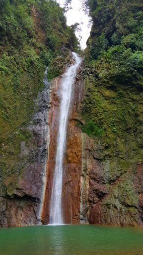 waterval tesoro escondido