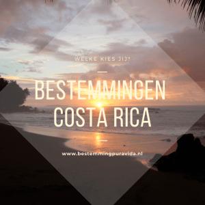 Costa Rica Bestemmingen