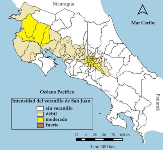 Klimaat Costa Rica