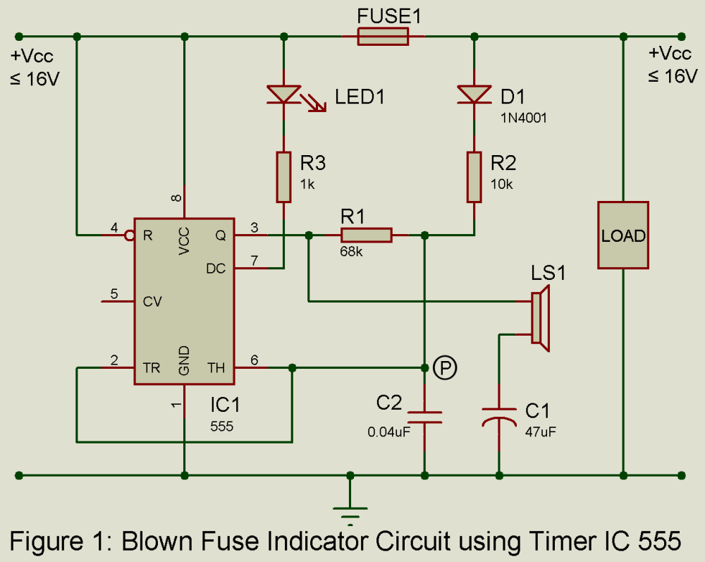 medium resolution of blown fuse indicator circuit engineering projects blownfuse indicator circuit diagram tradeoficcom