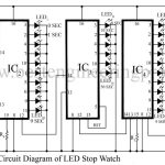 LED Stop Watch