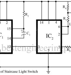 staircase light switch circuit best engineering projects [ 1600 x 679 Pixel ]