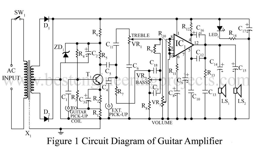 guitar amp schematic diagram schematics general guitar gadgets medium resolution of guitar amp schematic diagram
