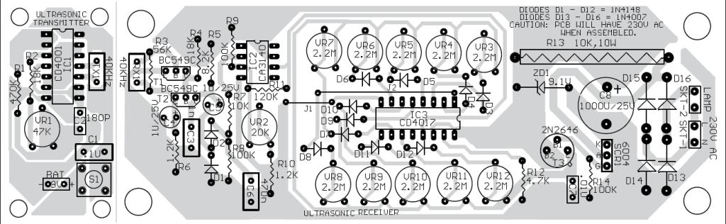 Component Side PCB design