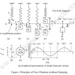 Free Vibration of a Mass Spring System Without Damping