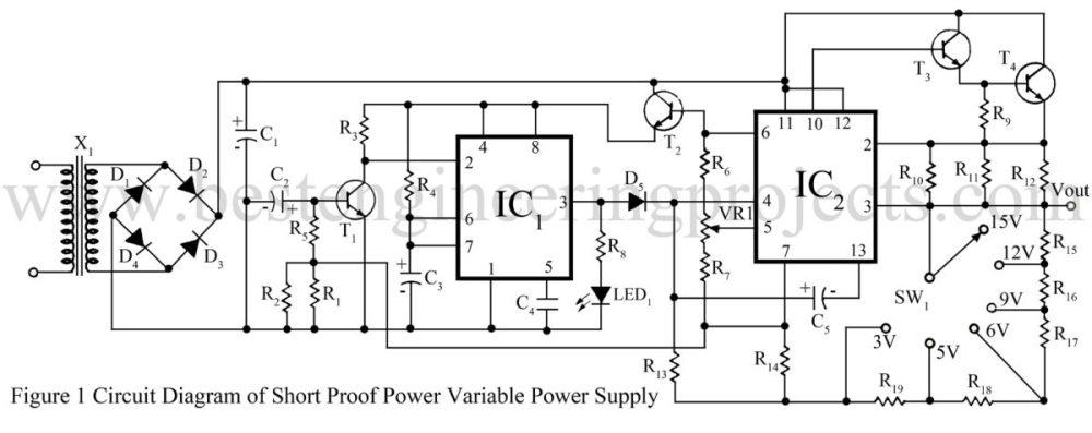 medium resolution of 12v power supply diagram