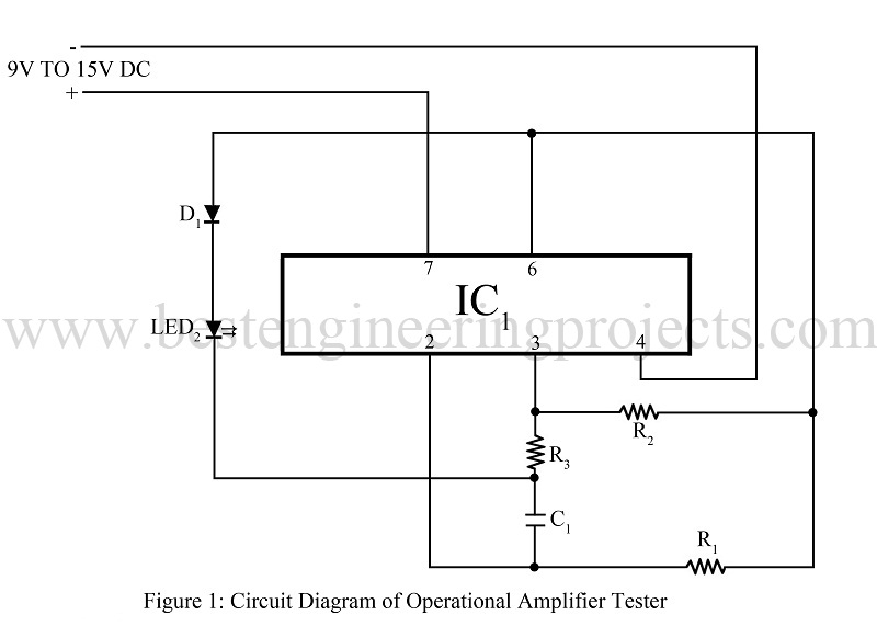 Electronic Measurement And Test Circuit