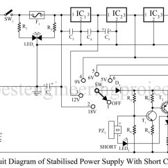 Dc Regulated Power Supply Circuit Diagram Hand Joints Electronics Projects