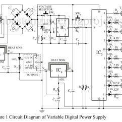 Pc Power Supply Wiring Diagram 2000 Eclipse Radio Universal Digital Circuit
