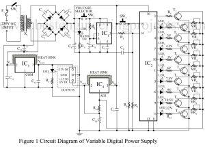 Universal Digital Power Supply Circuit   Power Supply