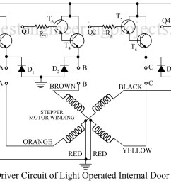 driver circuit of light operated internal door latch [ 1200 x 768 Pixel ]