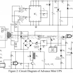 Electronics Mini Projects With Circuit Diagram Viper Car Alarm Wiring Advance Ups Best Engineering